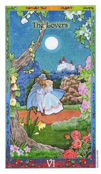 The Lovers Tarot Card - Whimsical Tarot Deck