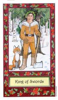 King of Swords Tarot Card - Whimsical Tarot Deck