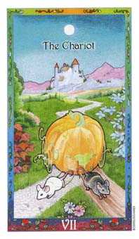 The Chariot Tarot Card - Whimsical Tarot Deck