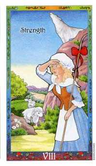 Strength Tarot Card - Whimsical Tarot Deck
