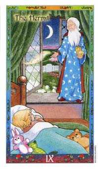 The Hermit Tarot Card - Whimsical Tarot Deck