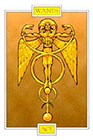 winged-spirit - Ace of Wands