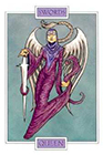 winged-spirit - Queen of Swords