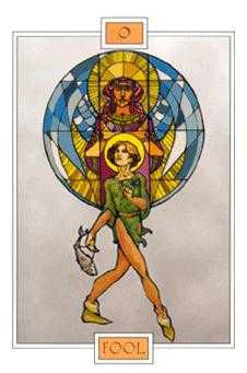 The Fool Tarot Card - Winged Spirit Tarot Deck