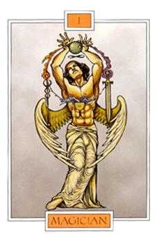 The Magician Tarot Card - Winged Spirit Tarot Deck