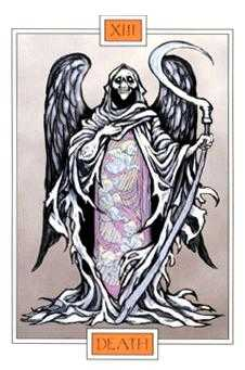 Death Tarot Card - Winged Spirit Tarot Deck