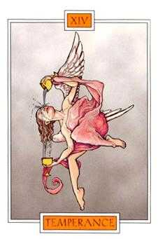Temperance Tarot Card - Winged Spirit Tarot Deck