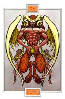 Temptation Tarot Card - Winged Spirit Tarot Deck