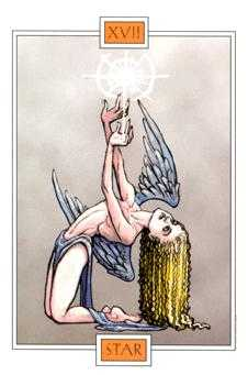 The Star Tarot Card - Winged Spirit Tarot Deck