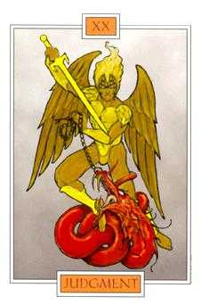 Aeon Tarot Card - Winged Spirit Tarot Deck
