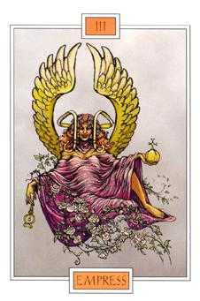 The Empress Tarot Card - Winged Spirit Tarot Deck