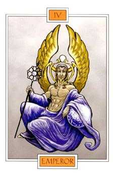 The Emperor Tarot Card - Winged Spirit Tarot Deck