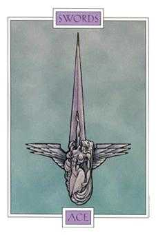 Ace of Wind Tarot Card - Winged Spirit Tarot Deck