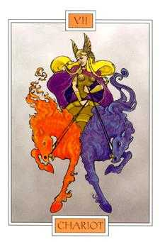 The Chariot Tarot Card - Winged Spirit Tarot Deck