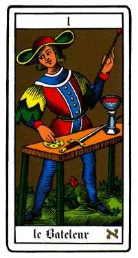 The Magician Tarot Card - Oswald Wirth Tarot Deck