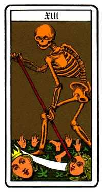 Death Tarot Card - Oswald Wirth Tarot Deck