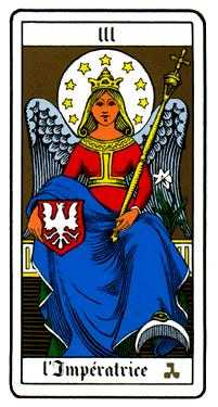 The Empress Tarot Card - Oswald Wirth Tarot Deck