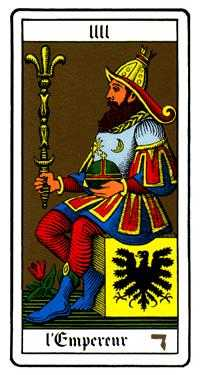 The Emperor Tarot Card - Oswald Wirth Tarot Deck