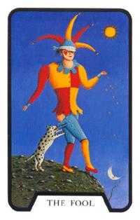 The Foolish Man Tarot Card - Tarot of the Witches Tarot Deck