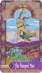 The Hanged Man Tarot Card - Zerner Farber Tarot Deck