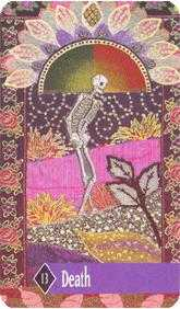 The Close Tarot Card - Zerner Farber Tarot Deck