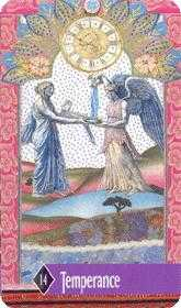 The Guide Tarot Card - Zerner Farber Tarot Deck