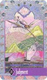 The Judgment Tarot Card - Zerner Farber Tarot Deck