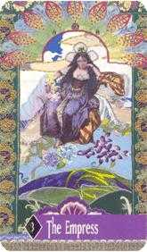 The Empress Tarot Card - Zerner Farber Tarot Deck
