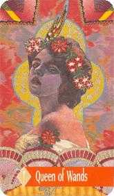 Mother of Fire Tarot Card - Zerner Farber Tarot Deck
