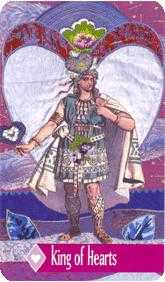 King of Cups Tarot Card - Zerner Farber Tarot Deck