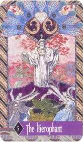 The Hierophant Tarot Card - Zerner Farber Tarot Deck