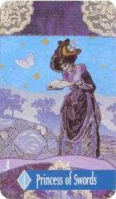 Sister of Wind Tarot Card - Zerner Farber Tarot Deck