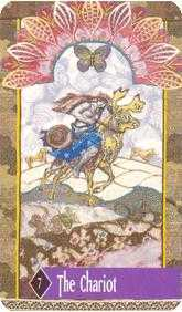 The Chariot Tarot Card - Zerner Farber Tarot Deck