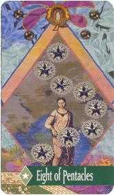 zerner-farber - Eight of Pentacles