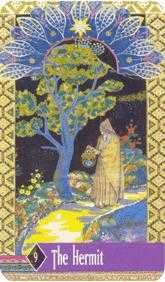 The Wise One Tarot Card - Zerner Farber Tarot Deck