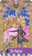 The Magician Tarot card in Zerner Farber Tarot deck