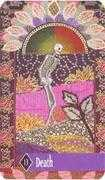 Death Tarot card in Zerner Farber Tarot deck