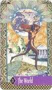 The World Tarot card in Zerner Farber Tarot deck