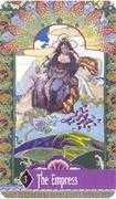 The Empress Tarot card in Zerner Farber Tarot deck