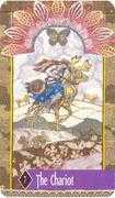 The Chariot Tarot card in Zerner Farber Tarot deck