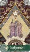 Ten of Pentacles Tarot card in Zerner Farber Tarot deck
