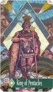 King of Pentacles Tarot card in Zerner Farber Tarot deck