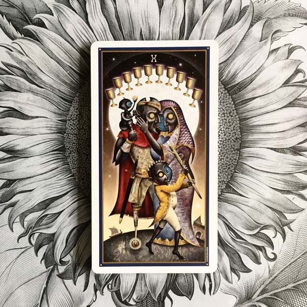 Ten of Cups Tarot Card