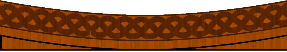 bottom side of Tarot reading table